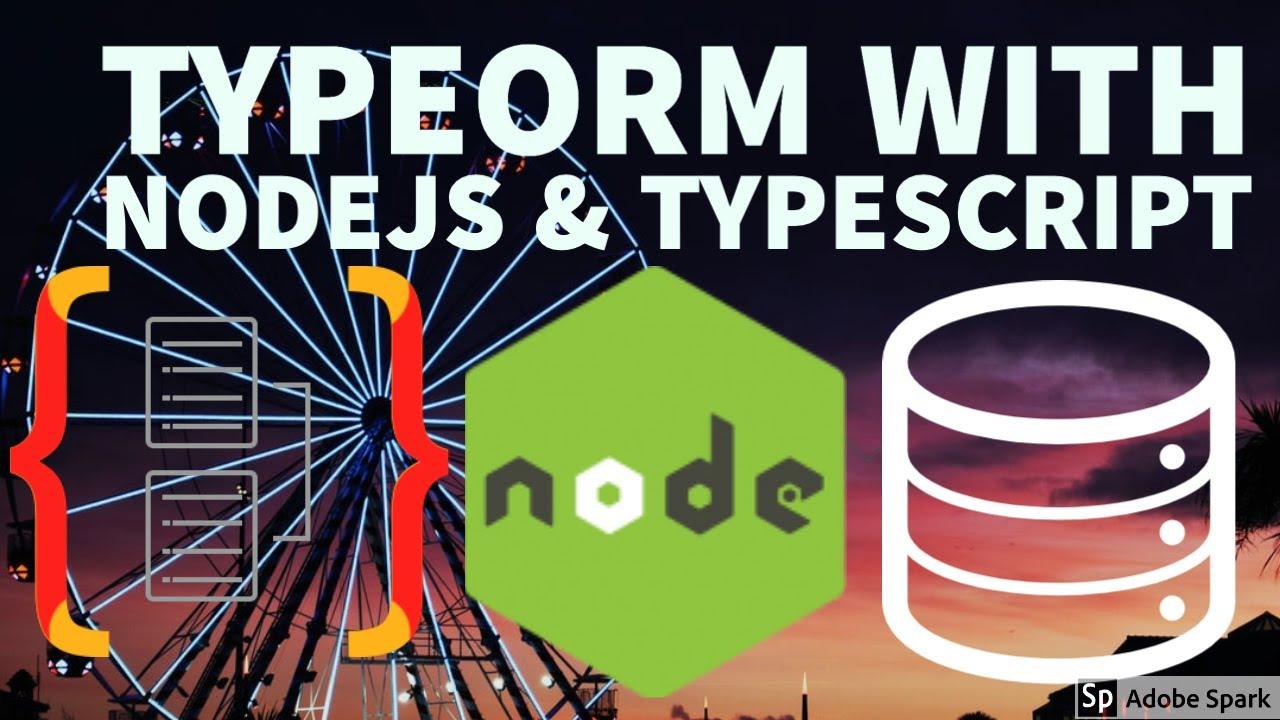 Node JS with Typescript TypeORM Mysql (TypeORM DB Sync) #10