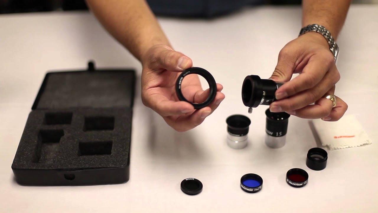 Astromaster telescope accessory kit tour youtube