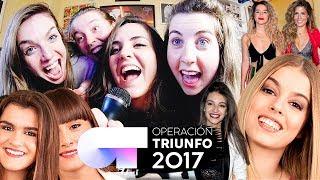 OT 2017 KARAOKE 🎤| Andrea Compton ft Percebes, Inés y Julia Compton