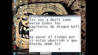 Como Ver Todos Los Capitulos de dragon ball gt