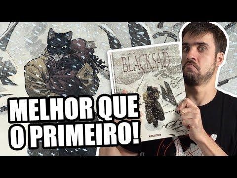 BLACKSAD VOL. 2: O QUE ERA BOM FICOU MELHOR!