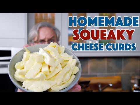 Making Squeaky Cheese Curds From Scratch || Glen & Friends Cooking