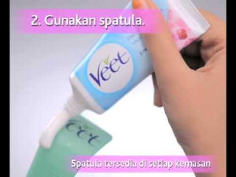 Cara Menggunakan Veet Hair Removal Cream