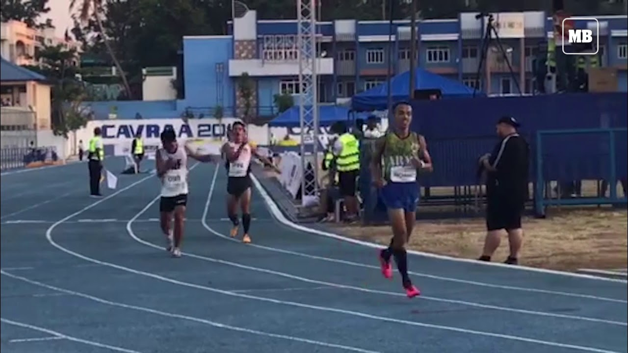 Richard Solaño of Philippine Army wins the 10 000m run of Ayala Philippine Athletics Championships