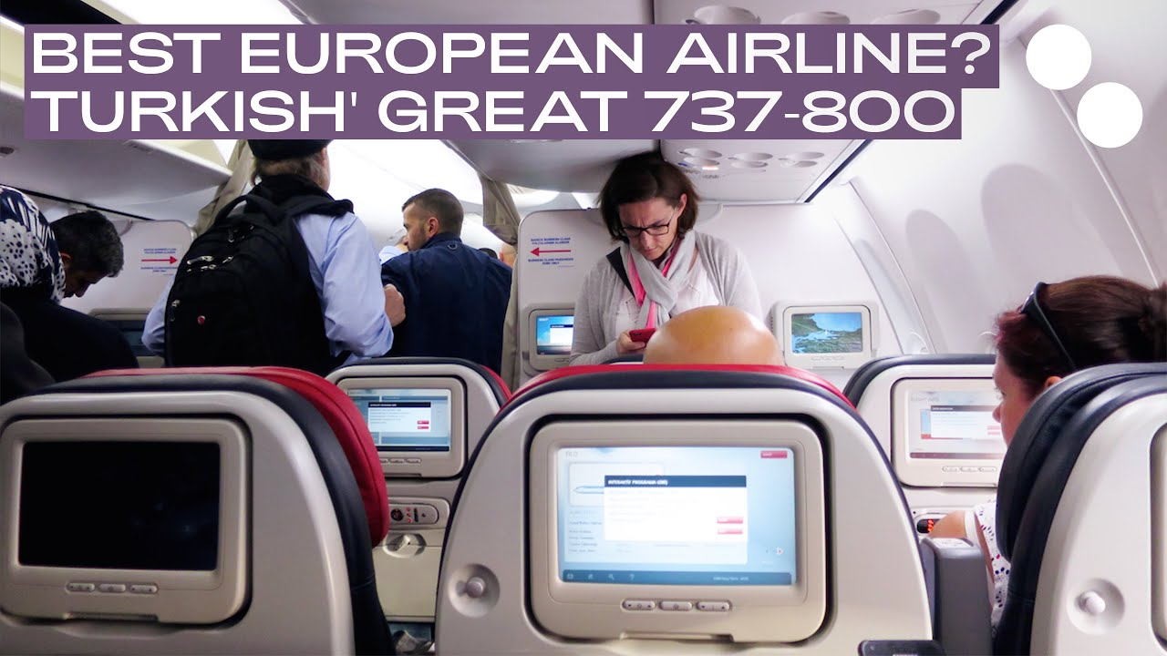 Turkish Airlines Boeing 737 800 New Economy Class Tk1390