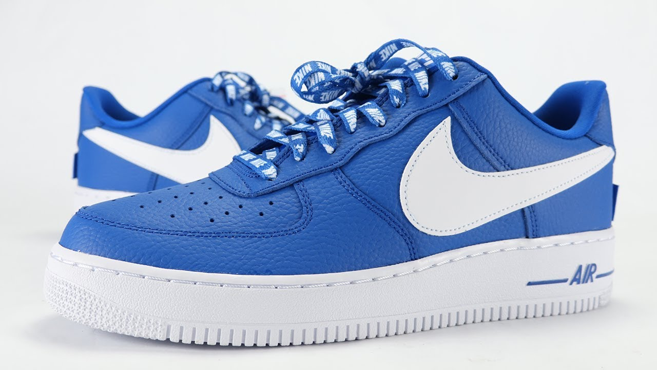 Air Force 1 High University Blue On Feet Sneaker Review