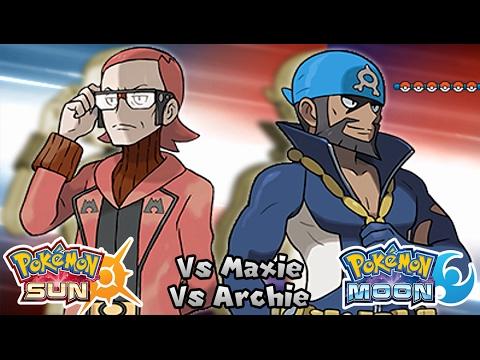 PokéWormhole Battle Challenge 2: Leader Maxie & Archie (Game Edited)