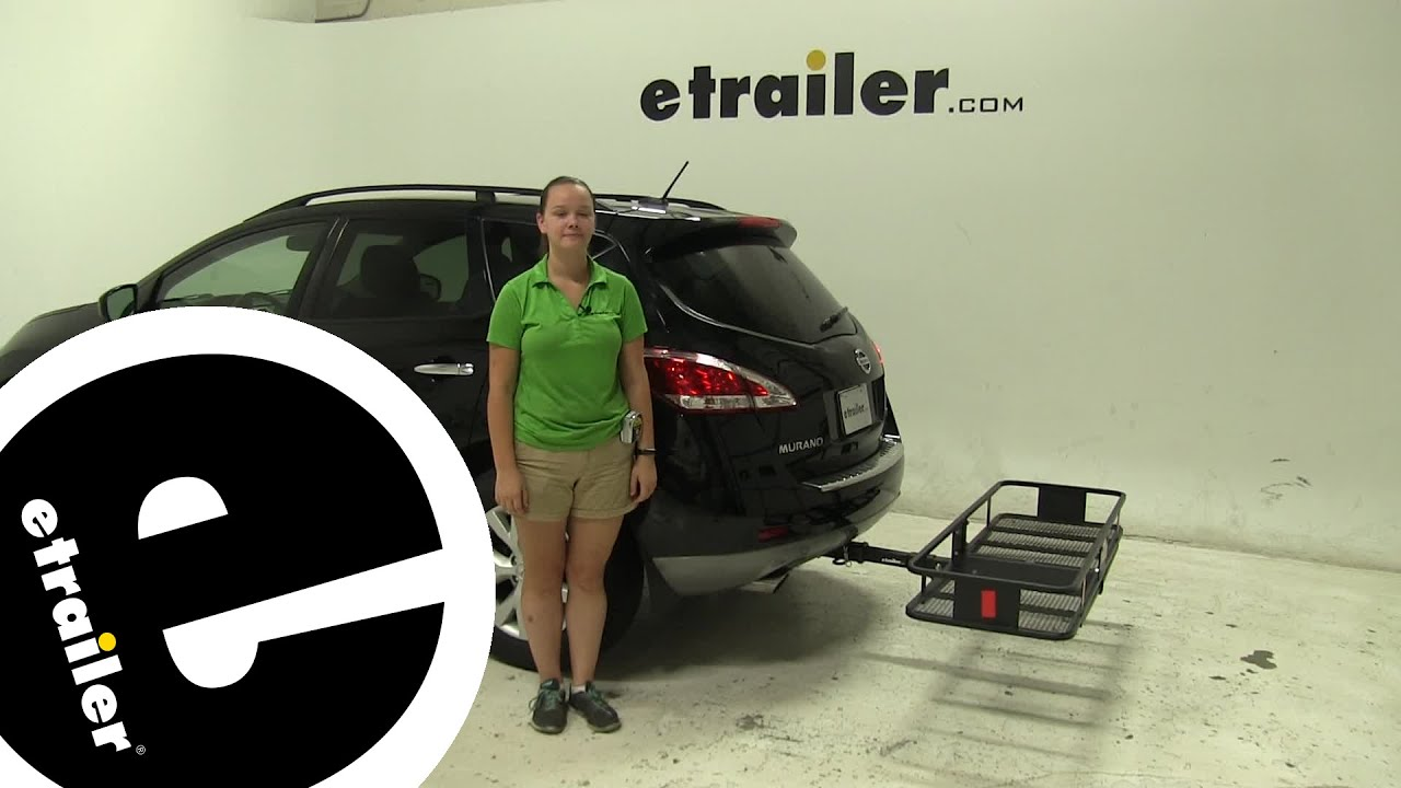 Curt Hitch Cargo Carrier Review   2011 Nissan Murano   Etrailer.com