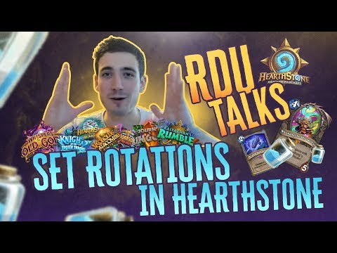 RDU Talks | Set Rotations In Hearthstone