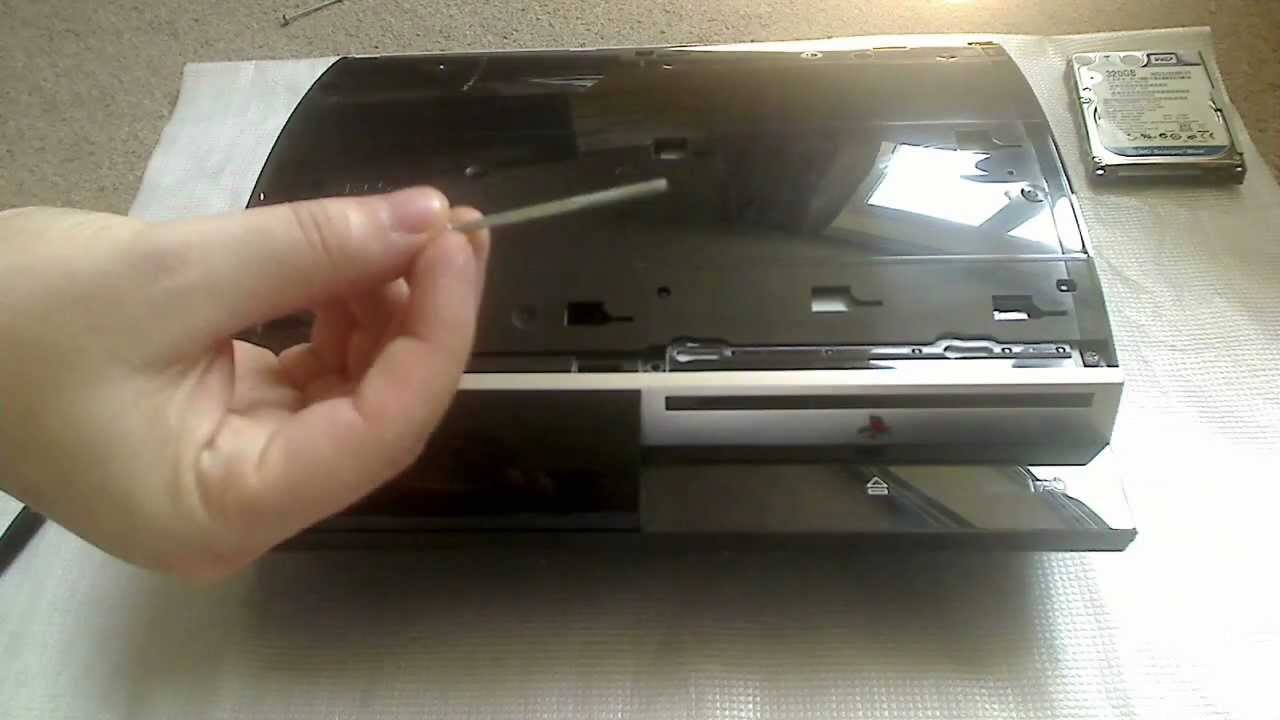 how to take apart a ps3 40gb youtube rh youtube com PS3 80GB PS3 20GB