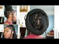 How to Style Box Braids (12 Easy Ways) || Alicia Keys/ Tribal inspired
