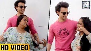 Arpita Khan Gets Furious With Husband Aayush Sharma For Pulling Her Cheeks | LoveYatri | LehrenTV