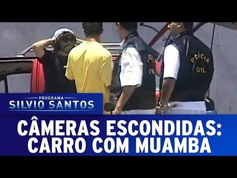 Câmeras Escondidas (10/04/16) - Carro Com Muamba