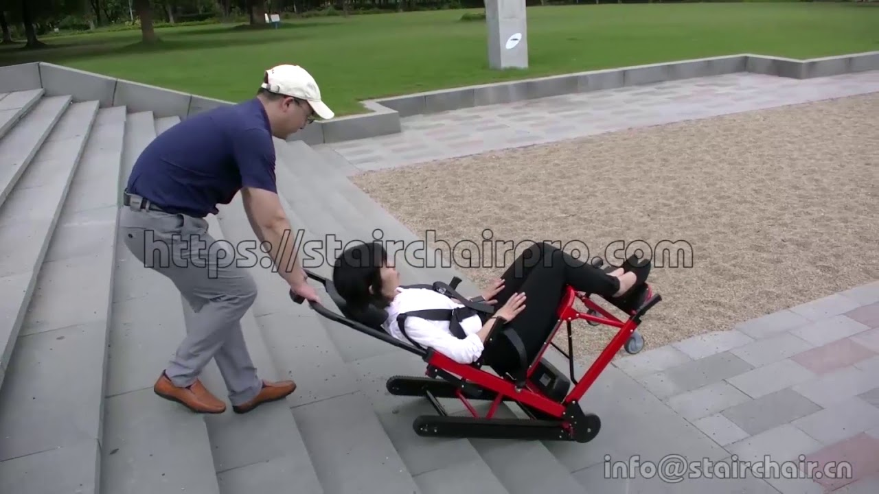 electric stair climbing chair for handicapped/ disabled/ elderly to ...