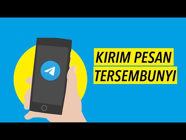 Cara Mengirim Pesan Tersembunyi di Telegram / Hidden Text Message