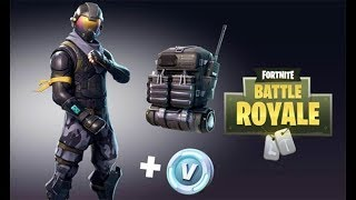 HAVE THE NEW PACK HALO FREE ON FORTNITE BATTLE ROYALE