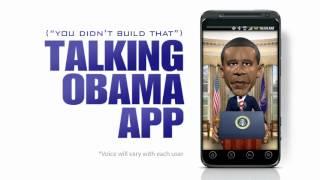 U Didn't Build That - Talking Obama App