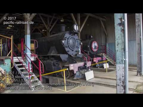Railroads of Australia: Peterborough Steamtown Heritage Rail Centre