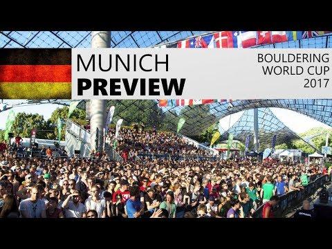 Preview | Munich Bouldering World Cup & European Championships