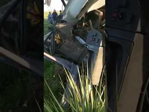 Un camión y un colectivo chocaron en la Ruta Nacional 14 vídeo 03