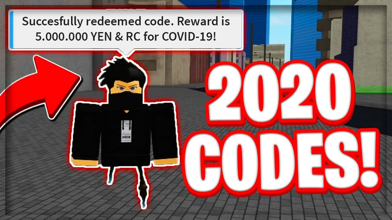 working yen rc codes  ro ghoul april