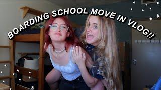 BOARDING SCHOOL MOVE IN DAY!!! (vlog) | Ella Katherine
