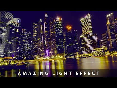 An Amazing Light Effect Photo Editing In Camera RAW in Photoshop cs6 2019