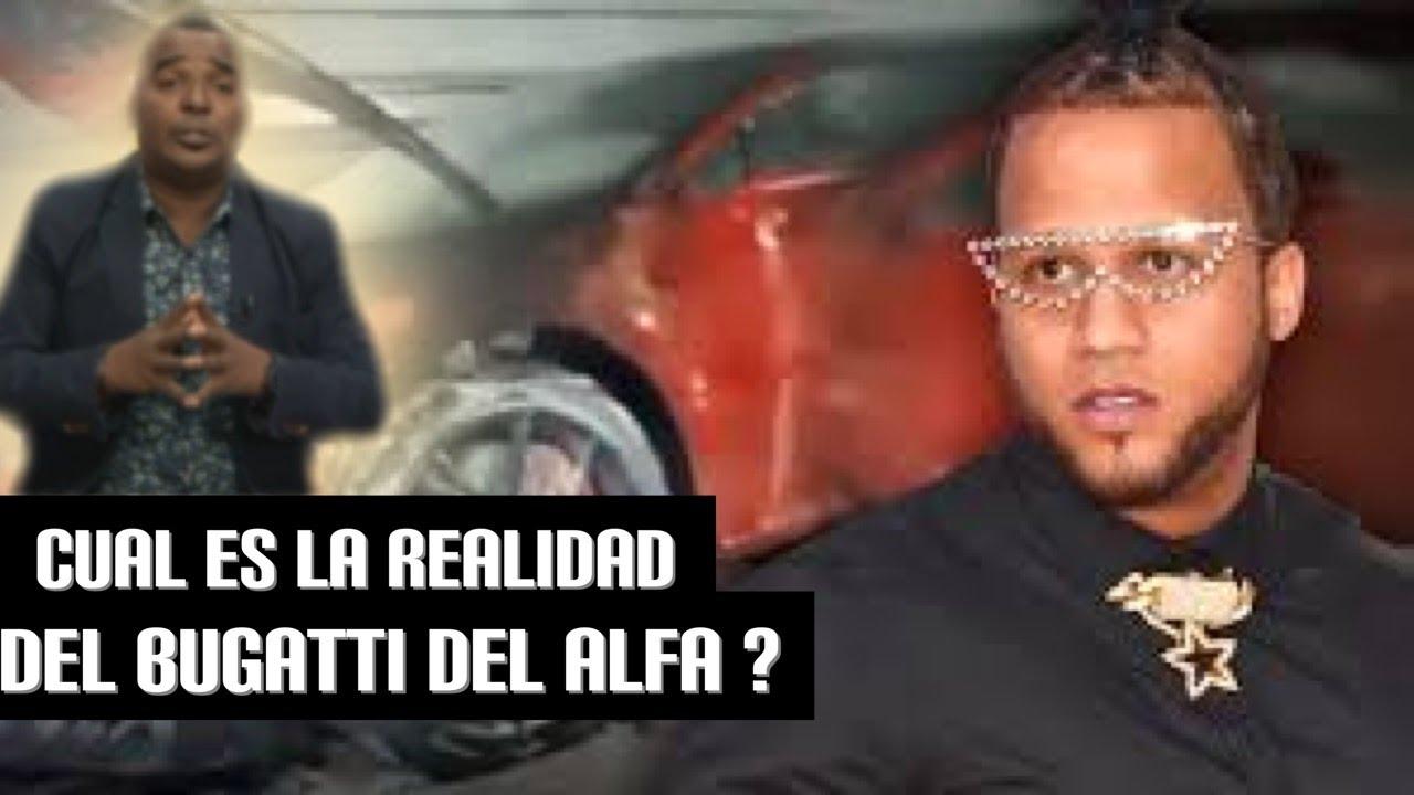 SONIDO O REALIDAD EL INCENDIO DEL BUGATTI DEL ALFA (ADAN LESTHER) COMENTA ¿QUE OPINA?
