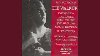 Die Walkure: Act II Deiner Ew