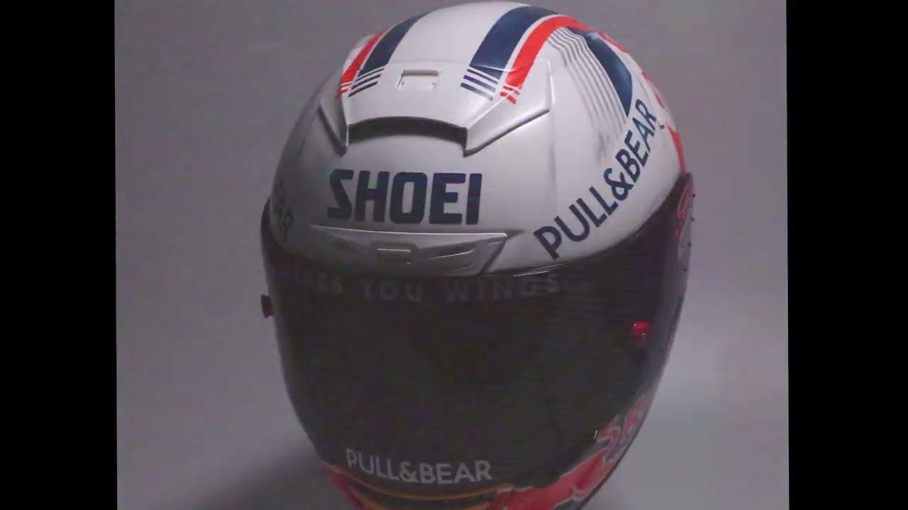 """El casco """"Retro"""" de Marc Márquez para el GP de Alemania"""