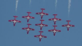 2015 RI Air Show - SNOWBIRDS (Full Show)