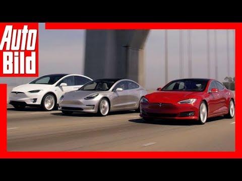 Tesla Model S, X, 3 und Y (2017) Die Tesla-Generationen Review/Details/Erklärung