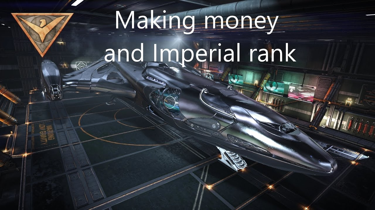 Elite Dangerous: Making money and Imperial rank