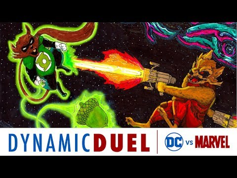 Ch'p vs. Rocket - DC vs. Marvel