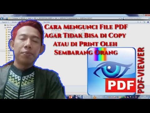 cara #tutorial #kunci #PDF #mudah..
