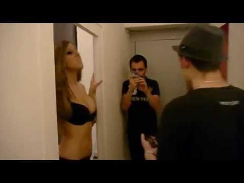 Securité routiere NRJ Angers avec Angélique stripteaseuse
