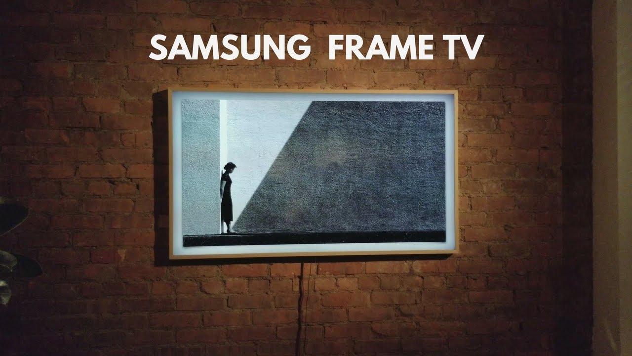 Samsung Frame TV! - YouTube
