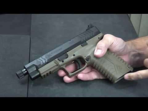 """Tactical 45 Cal Springfield XDm 4.5"""""""