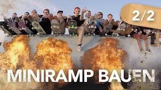 Miniramp bauen 2/2 (inkl. Einweihung) - Heimwerkerking Fynn Kliemann