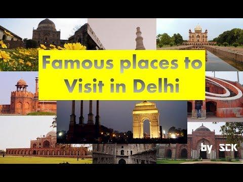 ||  Famous places to visit in Delhi : Delhi Tourism  ||  SCK's Photography