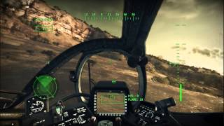 Apache Air Assault gameplay with commentary