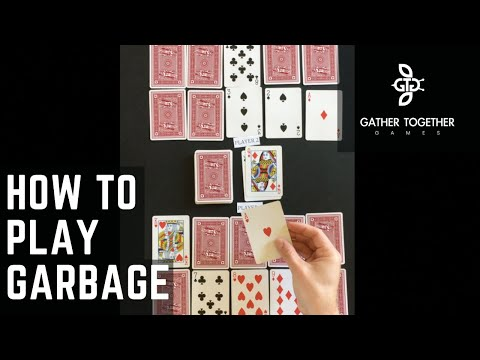 How To Play Garbage (Card Game)