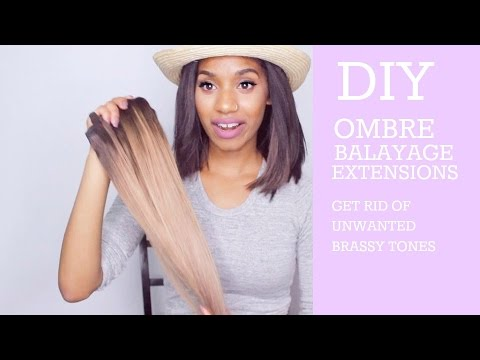 DIY Ombre/Balayage Clip-in Extensions   Nerissa Farrell