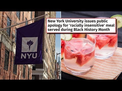 Black Students at NYU Triggered Over Black History Month Meal Prepared by Black Cooks (REACTION)