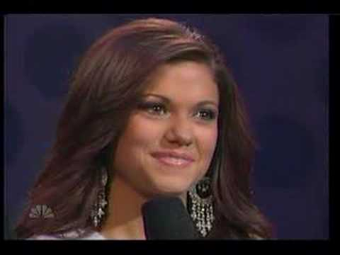 Miss Teen USA 2007 finalists' on-stage questions