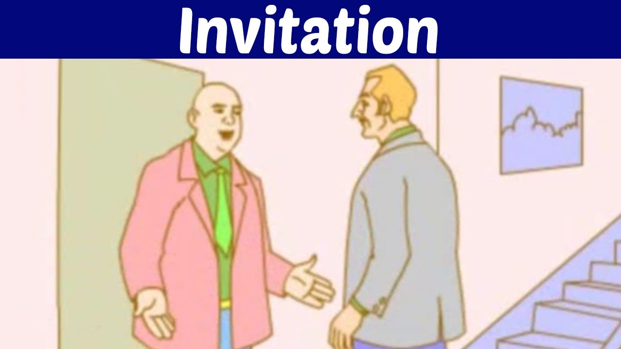 Invitation various ways for inviting someone youtube invitation various ways for inviting someone stopboris Choice Image