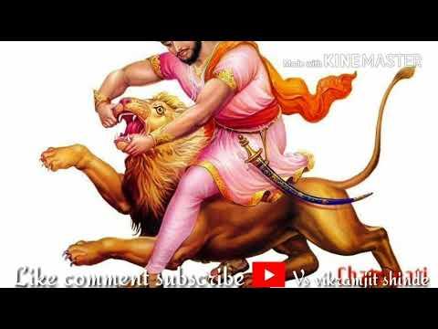 Powada with Lyrics - Me Shivajiraje Bhosale Boltoy   Superhit Marathi Songs   Mahesh Manjrekar