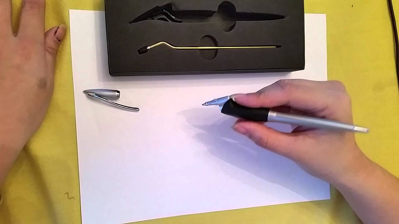 yoropen z3 how to hold the pen properly youtube. Black Bedroom Furniture Sets. Home Design Ideas