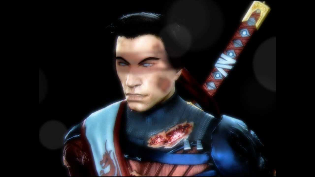 MK9 Rain and Kenshi's Faces Revealed - YouTube