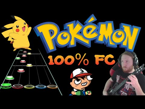 Pokemon 100% Full Combo (Guitar Hero - Custom Medley)